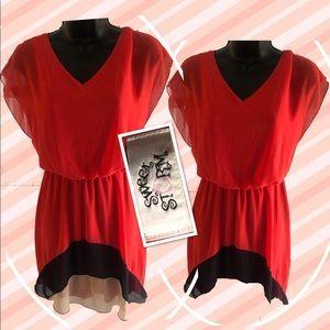 Sweet Storm Chiffon Dress